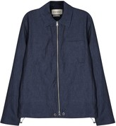 Oliver Spencer Dover Dark Blue Linen Jacket