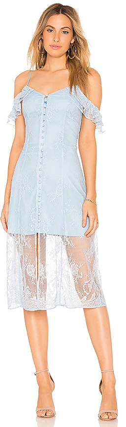 Majorelle White Oak Dress