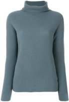 Hemisphere roll neck jumper