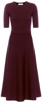 Gabriela Hearst Geneva wool-blend midi dress