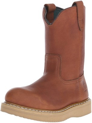 Georgia Men's Wedge Wellington Work Boot-m Steel Toe