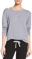 Monrow Slash Lounge Sweatshirt
