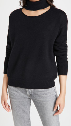 Line & Dot Harper Cutout Sweater