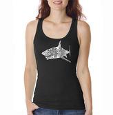 LOS ANGELES POP ART Los Angeles Pop Art Species Of Shark Tank Top