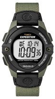 Timex Men's Expedition® Digital Watch with Nylon Strap - Green T49993JT