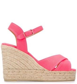 Castaner Woven Wedge Sandals