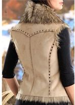 Powder River Outfitters Sheltie Vest - Double-Breasted (For Women)