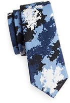 Haight And Ashbury Camo Cotton Tie