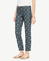 Ann Taylor The Tall Crop Pant in Paradise Print - Devin Fit