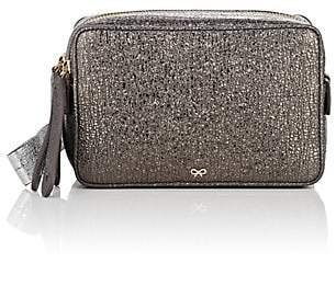 Anya Hindmarch WOMEN'S THE STACK TRIPLE LEATHER CLUTCH - SILVER