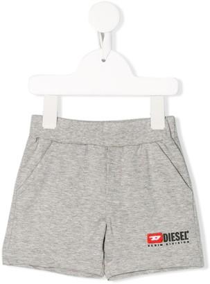 Diesel logo sweat shorts