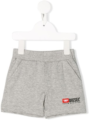 Diesel Logo Sweat Shorts