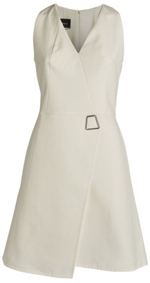 Akris Silk-Blend A-Line Dress