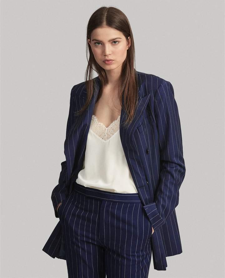 Ralph Lauren Double-Breasted Wool Blazer