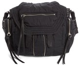 Alexander Wang Large Marti Poplin Backpack - Black