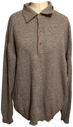 Ermenegildo Zegna Grey Cashmere Knitwear & Sweatshirts
