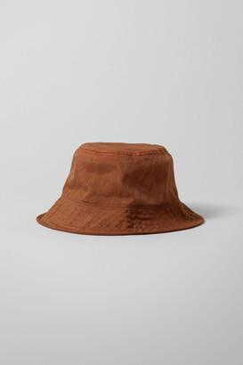 Weekday Fine Bucket Hat - Orange