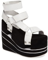 Jeffrey Campbell Women's Altamira Platform Wedge Sandal