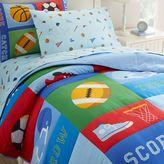 Olive Kids Game On Bedding in Blue
