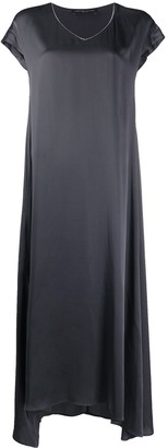 Fabiana Filippi V-neck maxi dress
