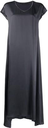 Fabiana Filippi V-neck maxi dress