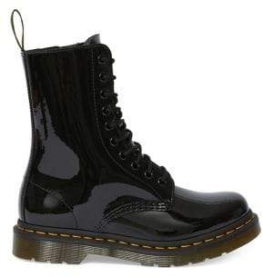 Dr. Martens Original Icons 1490 Patent Leather Mid-Calf Boots