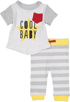 Baby Starters Yellow 'Cool Baby' Top & Pants - Infant