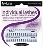Eylure Individual lashes Black (short, medium & long) - 6005001 by
