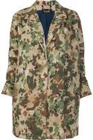 Rachel Comey painted camouflage coat