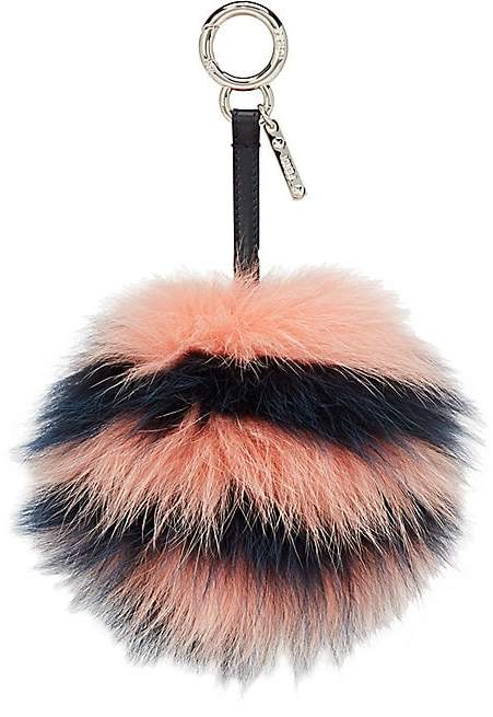 Fendi Women's Fur-Pom-Pom Bag Charm