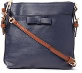 Kathy Ireland Navy Crossbody Bag