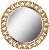 Kenroy Home Beveled Round Wall Mirror