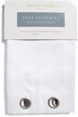 Set Of 2 Elmont Energy Saving Curtains
