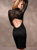 Victoria's Secret Open-Back Lace Dress
