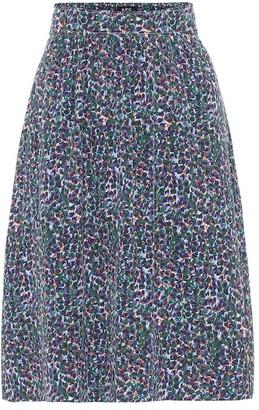 A.P.C. Ravenna crepe de chine skirt