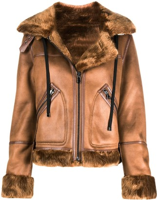 Urban Code Fur-Lined Jacket