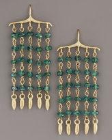 Padma Dangle Fringe Earrings