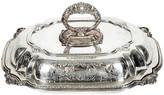 One Kings Lane Vintage Vintage English Plate Covered Tureen - La Maison Supreme - silver