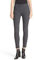 Theory Women's 'Adbelle K' Tweed Print Stretch Twill Leggings