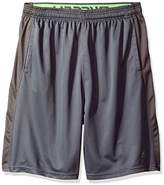 Russell Athletic Men's Big and Tall Color Blocked Jersey Shorts with Pockets