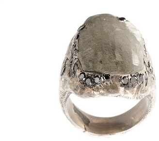 Tobias Wistisen Diamond Flat Surface Ring