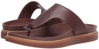 Clarks Trace Sand (Mahogany Leather) Men's Sandals