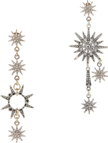 Lulu Frost Asymmetrical Star Earrings