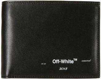 Off-White Seasonal Logo Bifold Wallet