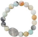Barse Amazonite & Druzy Power Bead Bracelet