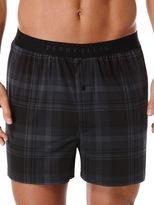 Perry Ellis Ibiza Plaid Luxe Boxer Short