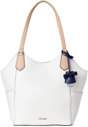 Nine West White Arabella Shoulder Bag