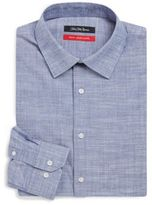 Saks Fifth Avenue Brushed Cotton Dress Shirt