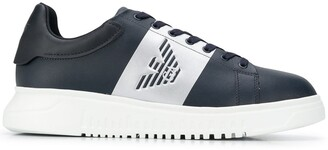 Emporio Armani Logo Low-Top Sneakers