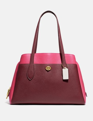 Coach Lora Carryall In Colorblock